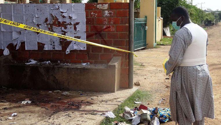 Bij de laatste zelfmoordaanslag in Kano kwamen zes mensen om het leven. Beeld AFP