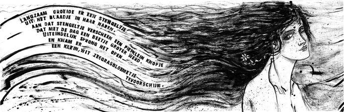 illustratie uit De Bloemenvloek