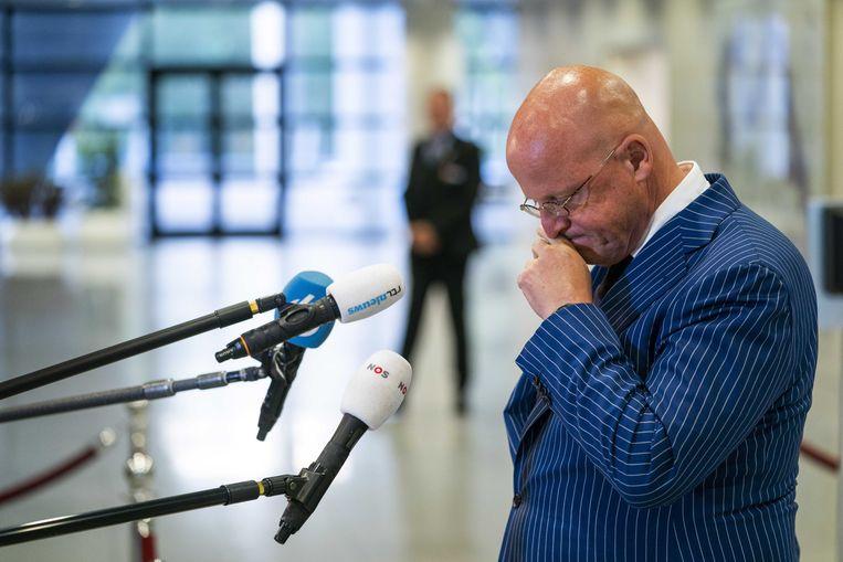 Minister Ferd Grapperhaus van Justitie en Veiligheid. Beeld ANP