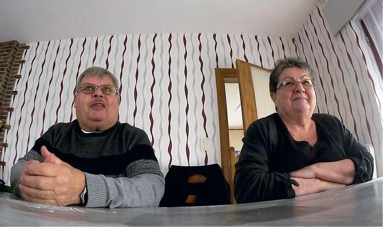 Robert en Marie-Paule Lamoline, vrienden aan huis: 'Toen ik Suzanne gelukkig nieuwjaar kwam wensen, was ze ondersteboven. Ze zei over Clara: 'Het is een stuk crapuul.'' Beeld
