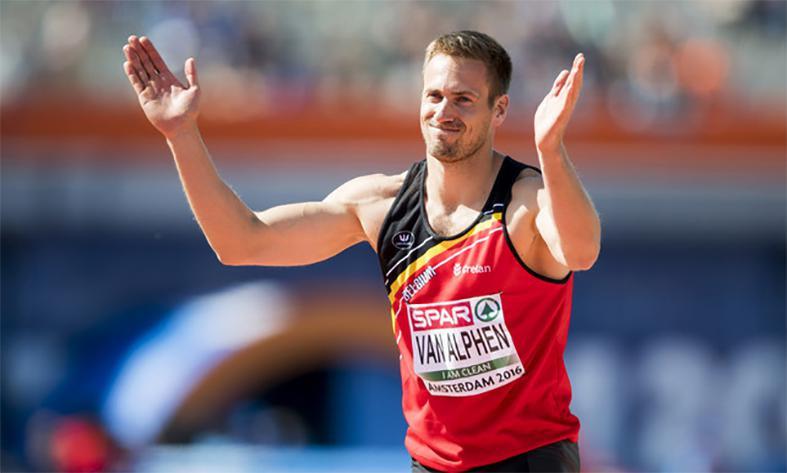 Hans Van Alphen was er niet bij in Rio, maar hij is wel van de partij in de HLN-meerkamp.