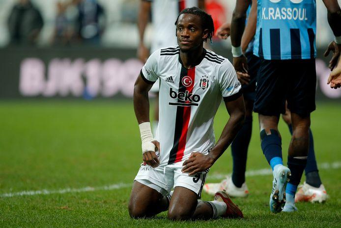 Batshuayi gaf met Besiktas een 3-0-voorsprong uit handen.