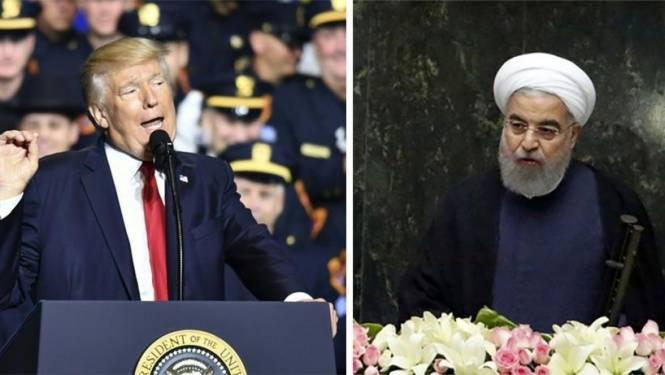 """Iraanse president haalt uit naar Trump: """"Zijn speech was onwetend, absurd en vol haat"""""""