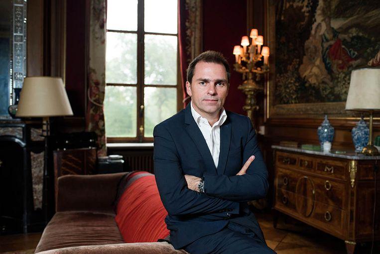 Luc Haekens in 'De Blauwe Gids'. Beeld SBS Belgium