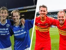 Bosschenaren Bakx en Van Moorsel doen fotomoment van 2011 over in shirt GA Eagles