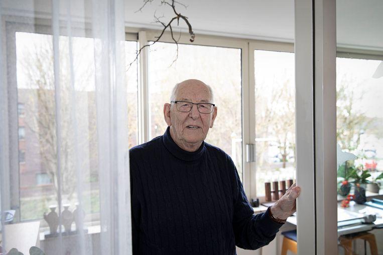 Henk van Remmen is tegen het heffen van belasting op zijn spaargeld. Beeld Ton Toemen
