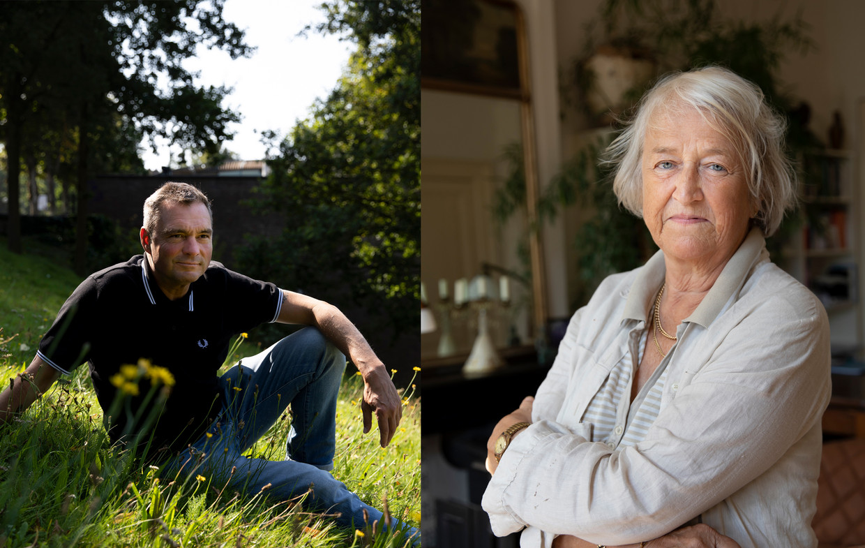 Marcel van Oostveen en Bodine de Walle. Beeld Judith Jockel