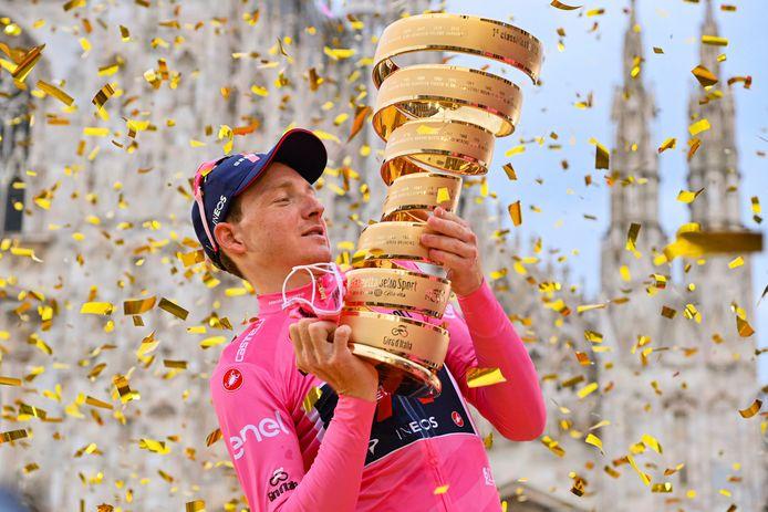 Girowinnaar Tao Geoghegan Hart gaat zijn debuut maken in de Tour de France.