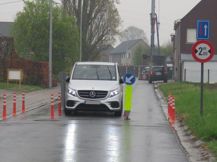De wegversmalling in de Maria's Lindestraat is een van de zaken waar de voorbije jaren nogal wat discussie over was.