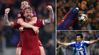 Drie goals ophalen in de Champions League? Daarin slaagden nóg maar drie teams, waaronder AS Roma zelf
