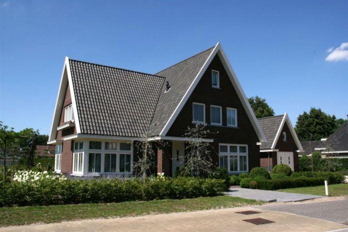 Voorbeeld van een project van de provinciale Ontwikkelmaatschappij Ruimte voor Ruimte aan de Meerweg in Heesch.