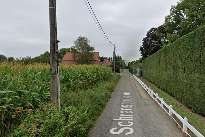 De Schranshoevebaan in Wommelgem.
