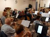 5 mannen al ruim 60 jaar lid van het KSW harmonieorkest