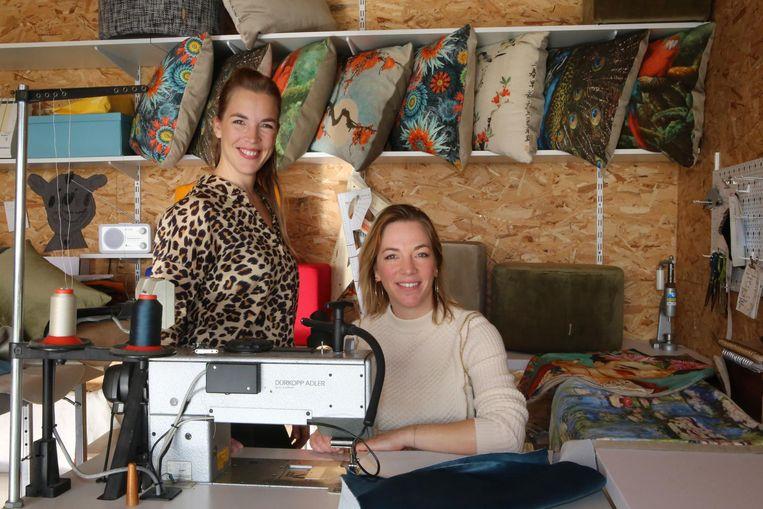 Guillemine en Ozanne Mertens zijn te zien in het tv-programma 'Een Frisse Start met vtwonen' (Vitaya).