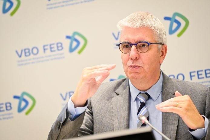 Le directeur général de la FEB, Pieter Timmermans
