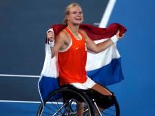 Rolstoeltennisster De Groot bezorgt Nederland 23ste gouden medaille op Paralympische Spelen
