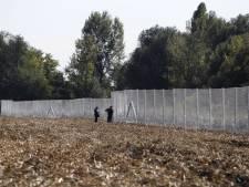 La clôture à la frontière croato-hongroise achevée