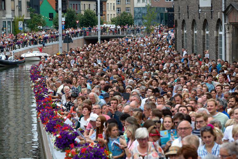 De Gentse Feesten gaan dit jaar helaas ook niet door, de laatste editie dateert al van twee jaar geleden. Beeld BELGA
