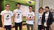 Eerste échte CoderDojo in de bibliotheek van Beersel een succes