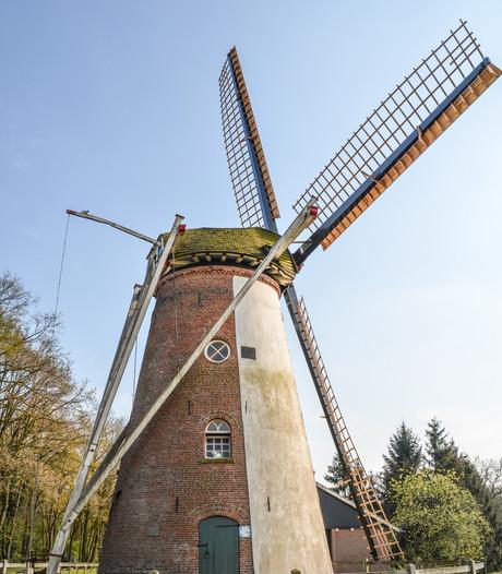 De molen van Saasveld kan weer voluit draaien