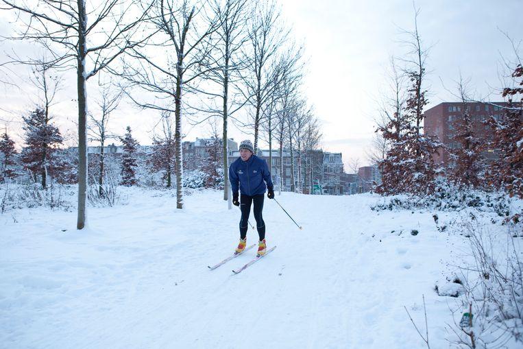 Skiën is ook een optie. Beeld