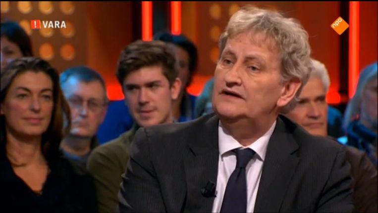 Burgemeester Eberhard van der Laan was vrijdag te gast bij De Wereld Draait Door Beeld screenshot Vara