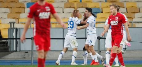 Dynamo Kiev maakt einde aan Champions League-droom van AZ
