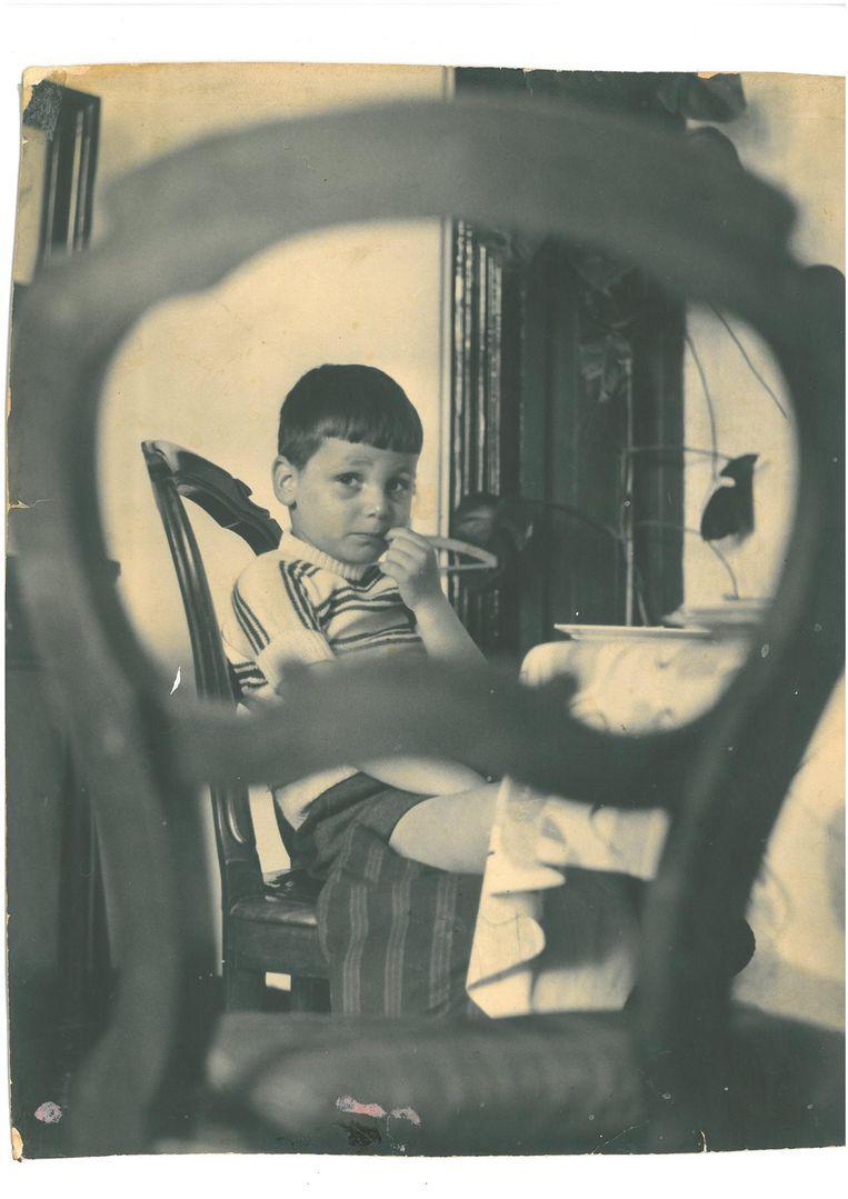 Kinderfoto van Jaap Goudsmit Beeld -