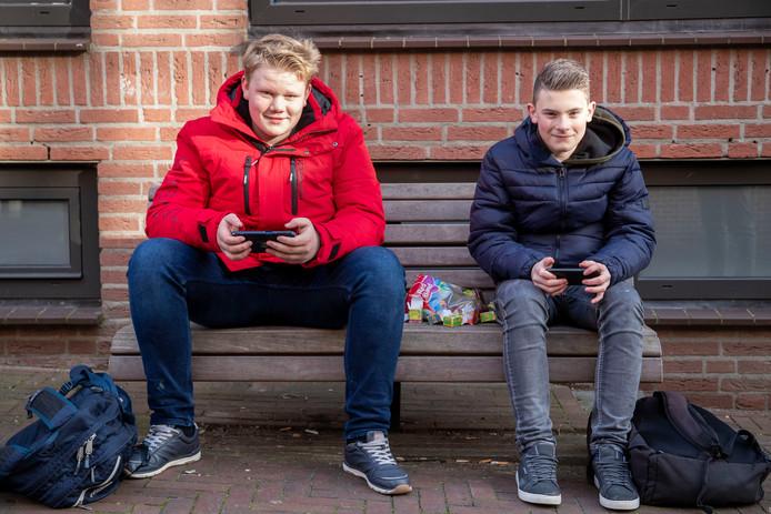 tJulian van Vliet (links) en Reynier Vos.
