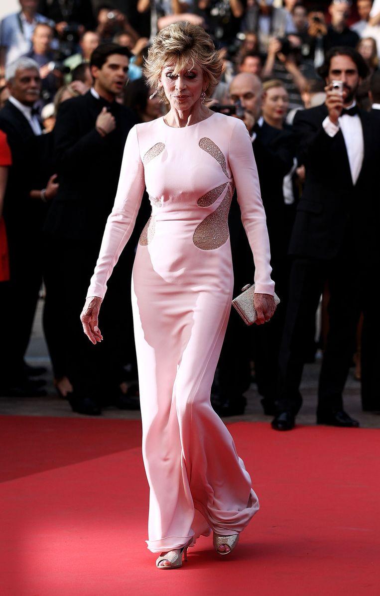 Jane Fonda. Beeld UNKNOWN