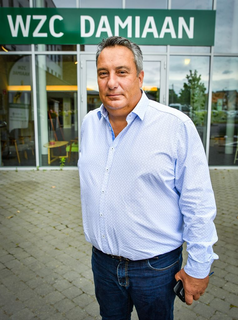 Directeur Yves Minnoye. Beeld Joel Hoylaerts/Photo News