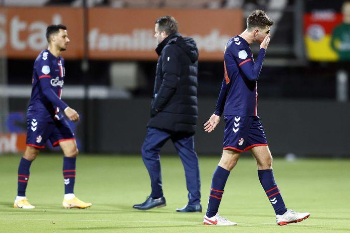 Ricardo van Rhijn  en Jari Vlak verloren gisteren voor de elfde keer dit seizoen.