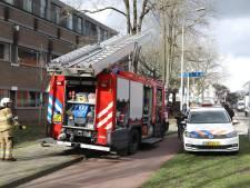 Brandweer blust prullenbakbrand en redt poes uit appartement in Oss