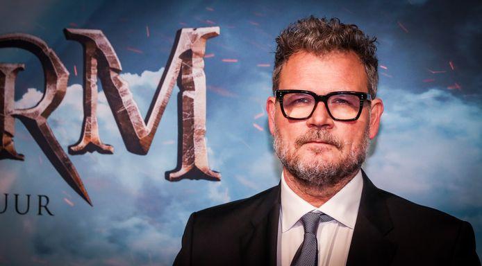 Yorick van Wageningen tijdens de première van de Nederlandse avonturenfilm Storm.