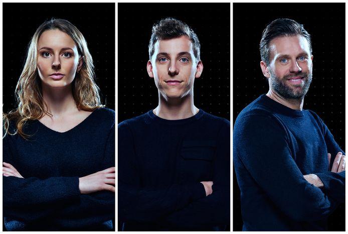 De drie finalisten van 'De Mol'