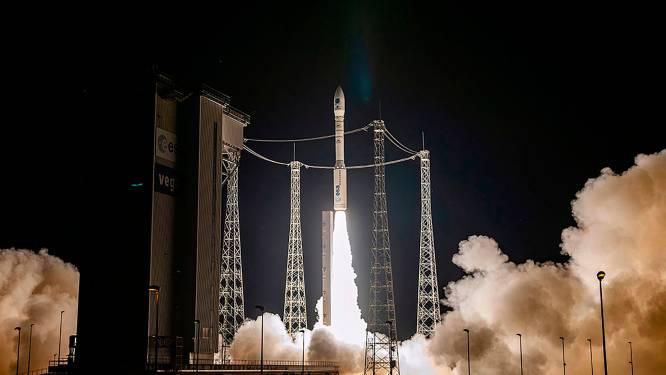 Half jaar na mislukking is opnieuw Europese Vega-raket gelanceerd