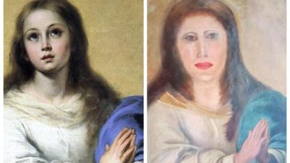 """Opnieuw loopt restauratie mis in Spanje: """"Die klunzen verknoeien het keer op keer"""""""