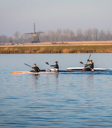 Kanotalenten worden straks in Rotterdam klaargestoomd voor de Olympische Spelen