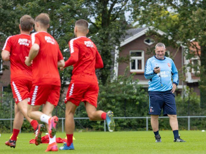 Ron Jans, trainer van FC Twente.