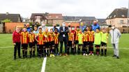 Nieuwe kunstgrasvelden van KRC Mechelen en Yellow-Red KV Mechelen officieel geopend