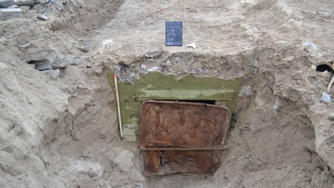 """Bunker van Hitlers verdedigingsmuur gevonden onder casinosite: """"Zelfs de verf is uitzonderlijk goed bewaard gebleven"""""""