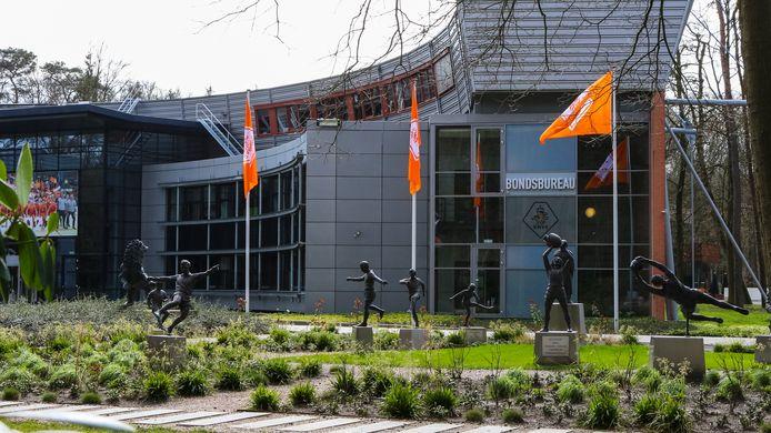 Het hoofdkantoor van de KNVB in Zeist.