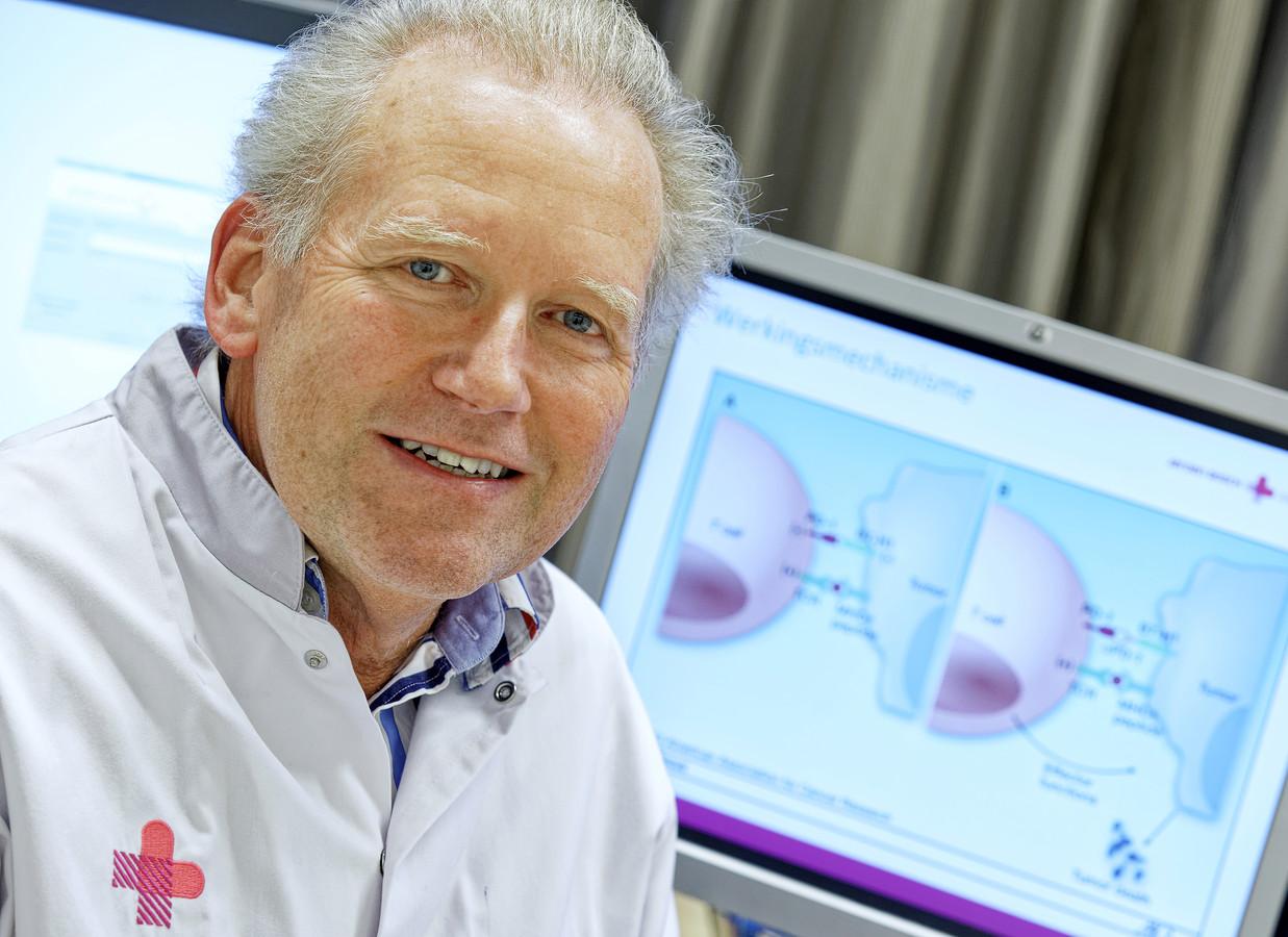 Longarts Bonne Biesma: ,,Ik heb nog geen patiënt nee horen zeggen tegen immunotherapie.''