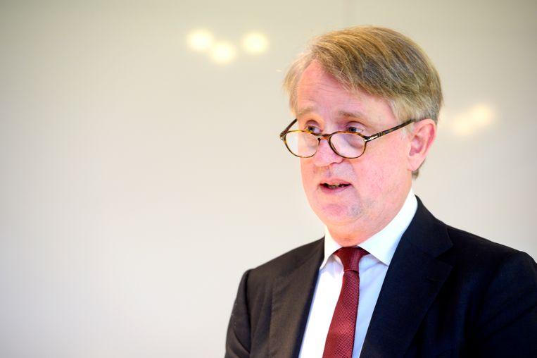 Schipholtopman Dick Benschop Beeld ANP