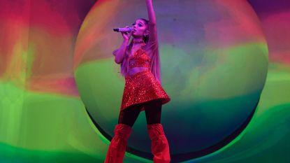 Ariana Grande brengt glitter en girlpower naar Sportpaleis