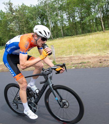 Wielrenner Joren Bloem onderstreept zijn progressie met vijfde plaats op NK beloften
