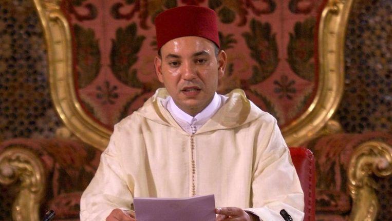 De Marokkaanse koning Mohammed VI © anp Beeld