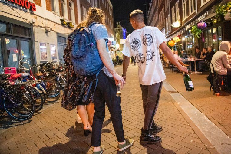 Vanaf zaterdag ontstaat er een onoverzichtelijke situatie voor toeristen die in Nederland uit willen gaan.  Beeld Hollandse Hoogte / Patricia Rehe