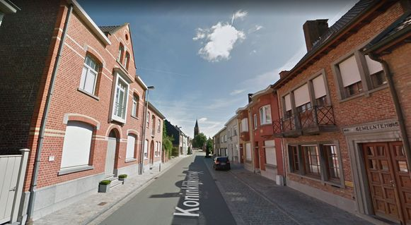 De Koninklijkestraat in Kooigem.