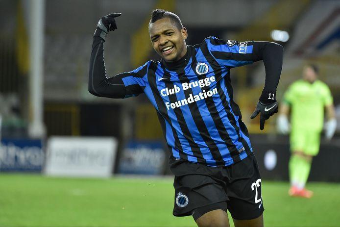 José Izquierdo tekende in de heenwedstrijd voor het vierde doelpunt van Club.